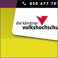 VHS Kärnten Homepage